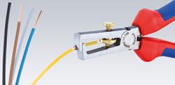 Клещи для удаления изоляции 160 мм Knipex_3